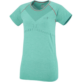 Millet Seamless Motion T-shirt Dam dynasty green